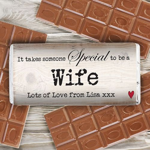 Personalised Someone Special Chocolate